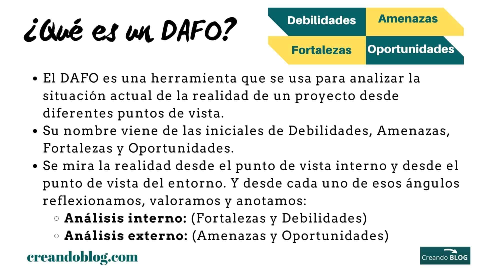 DAFO creando blog 1