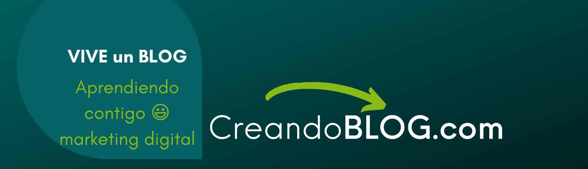 imagen VIVE un BLOG con creandoblog.com