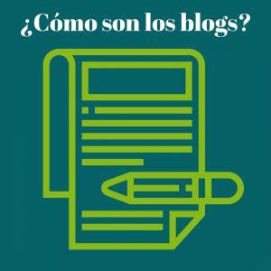 imagen como son los blogs