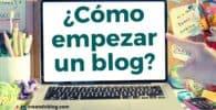 Imagen cómo empezar un blog