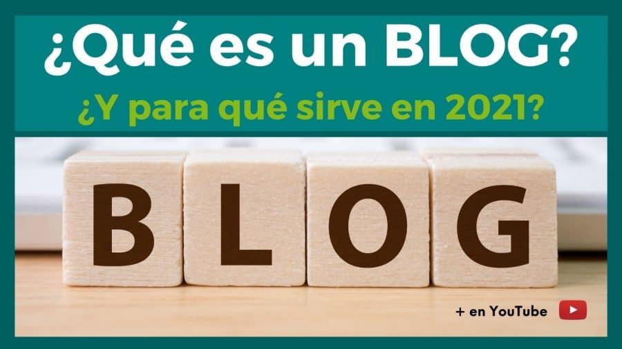 imagen que es un blog y para que sirve en el año 2021