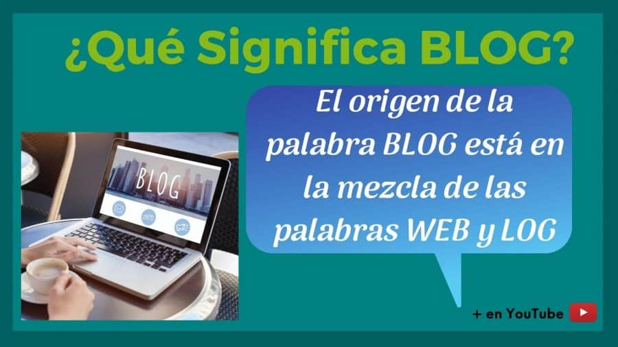 Imagen que significa blog