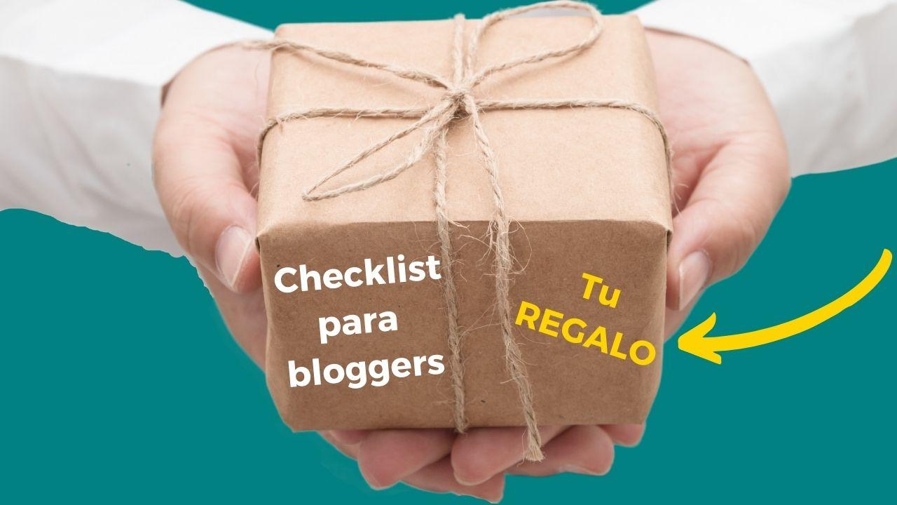 imagen regalo checklist para bloggers