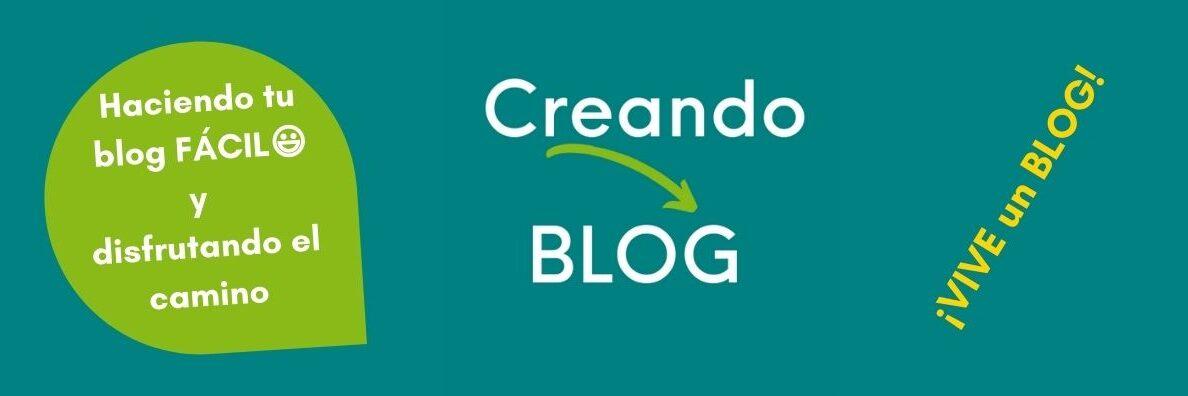 Imagen cabecera portada Creando Blog