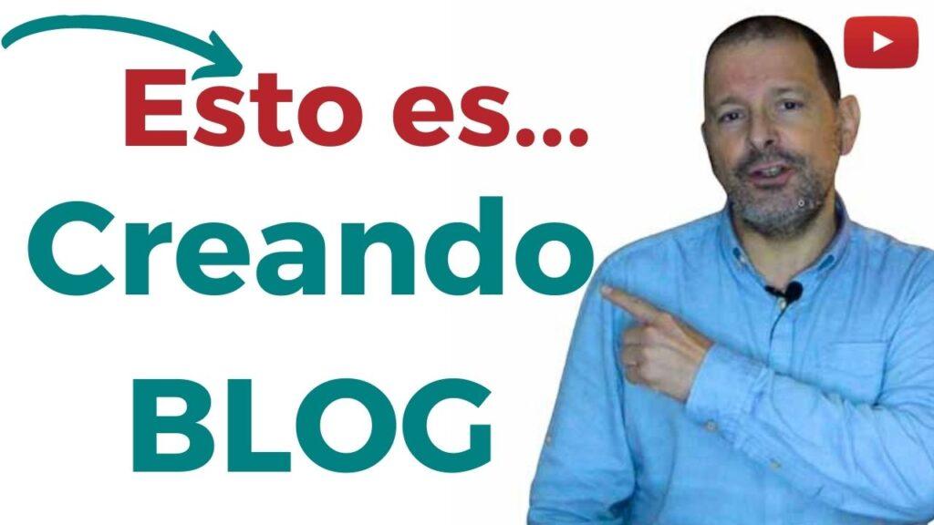 Imagen de portada de vídeo por qué Creando Blog
