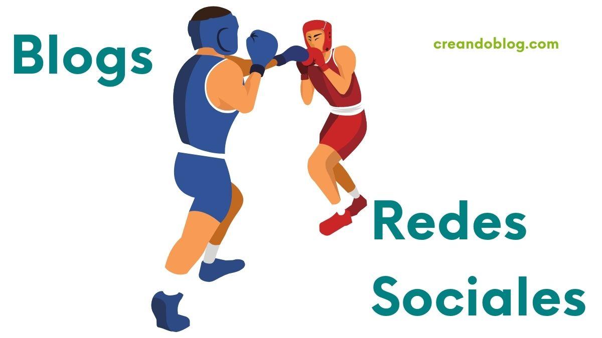 Imagen combate entre blogs y redes sociales