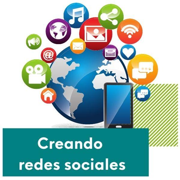 imagen como crear en redes sociales con creando blog