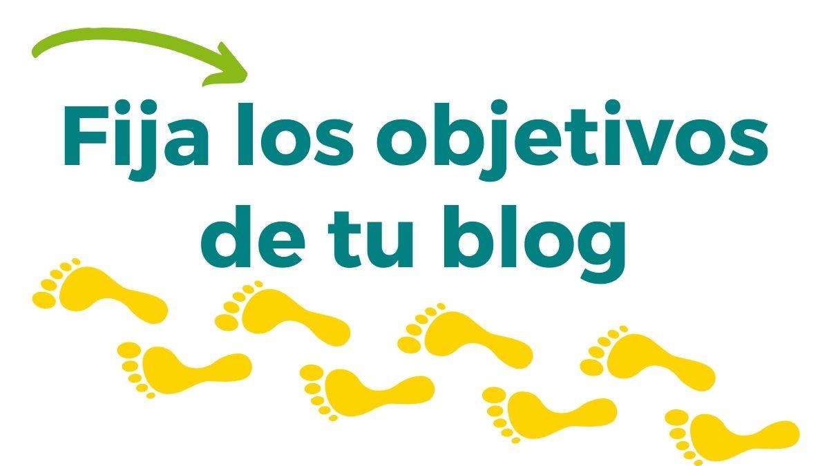 imagen fija los objetivos de tu blog