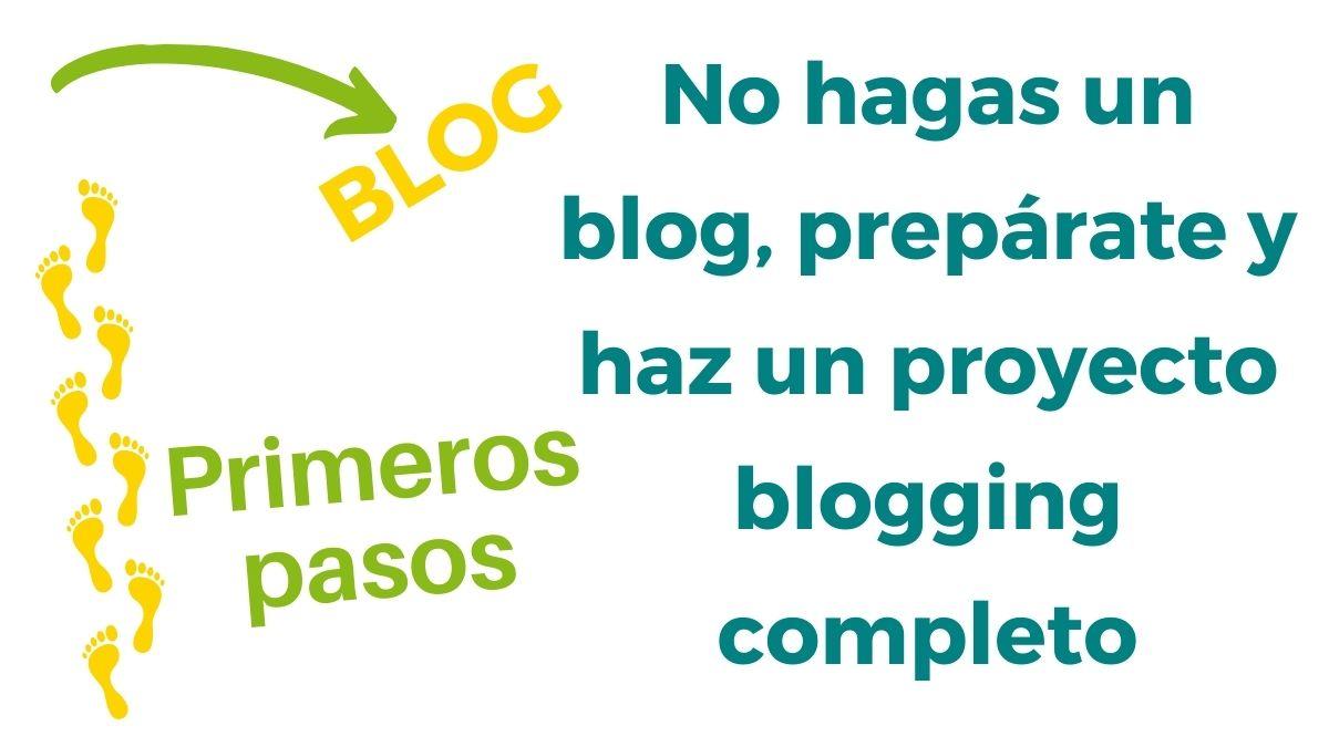 Imagen no hagas un blog