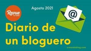 Imagen diario bloguero de agosto de 2021