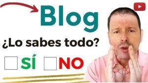 Imagen a modo de portada del vídeo ¿qué es un blog y para qué sirve? de Abraham Creando Blog