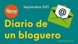 Imagen diario bloguero de septiembre de 2021